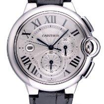 Cartier Ballon Bleu 44mm Acero 44mm Plata