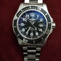 Breitling Superocean II 44 Steel 44mm Black Arabic numerals United States of America, New Jersey, Upper Saddle River