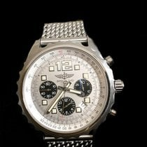 Breitling Chronospace Automatic Stahl 46mm Silber