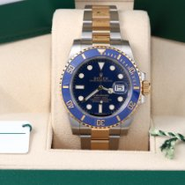 Rolex Submariner Date Gold/Steel 40mm Blue No numerals United States of America, California, Los Angeles