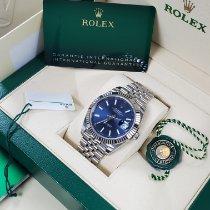 Rolex Datejust 126334-0002 Veldig bra Gull/Stål 41mm Automatisk