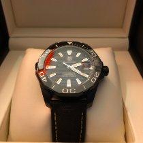 TAG Heuer Aquaracer 300M occasion 41mm Noir Date Textile