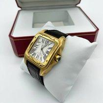 Cartier W20071Y1 Желтое золото Santos 100 38mm подержанные