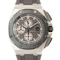 Audemars Piguet Titanium Automatic Grey No numerals 44mm new Royal Oak Offshore Chronograph