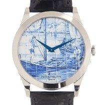 百達翡麗 Calatrava 新的 2020 自動發條 附正版包裝盒和原版文件的手錶 5089G-060