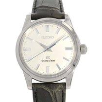 Seiko White gold Automatic Silver No numerals 37mm new Grand Seiko