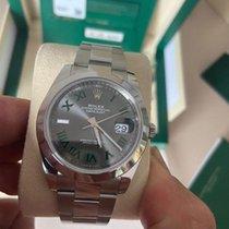 Rolex Datejust Acier 41mm Gris Sans chiffres France, Paris