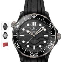 歐米茄 Seamaster Diver 300 M 陶瓷 43.5mm 黑色 無數字 香港