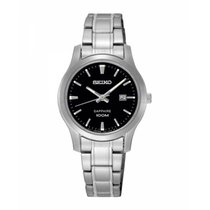 Seiko Tantalum Quartz Black No numerals 29.2mmmm new