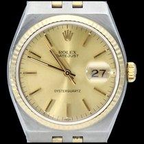 Rolex Datejust Oysterquartz Or/Acier 36mm Or Sans chiffres Belgique, Brussel