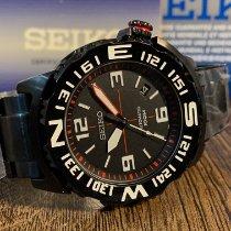 Seiko Superior Steel 45mm Black Arabic numerals