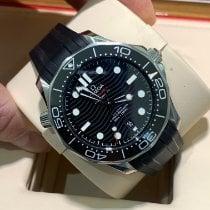 Omega Seamaster Diver 300 M pre-owned 42mm Black Date Rubber