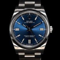 勞力士 Oyster Perpetual 36 新的 2021 自動發條 附正版包裝盒和原版文件的手錶 126000