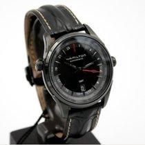 Hamilton Jazzmaster GMT Auto Steel 42mm Black