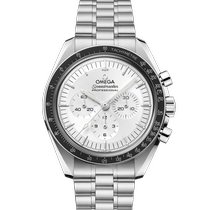 Omega White gold Manual winding Silver 42mm new Speedmaster Professional Moonwatch