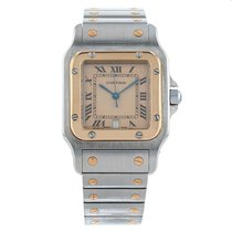 Cartier 187901 1990 Santos Galbée 29mm подержанные