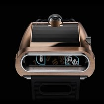"""Mb&f Rotgold 51.5mmmm Automatik HM5 """"On the road again"""", red gold, limited edition 66 pieces neu"""