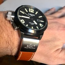 U-Boat Classico Acier 45mm Noir Arabes France, Lyon
