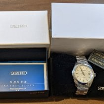Seiko Spirit Steel 38mm Silver No numerals United States of America, Massachusetts, Newton