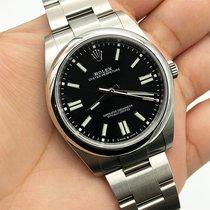 Rolex Oyster Perpetual Steel 41mm Black No numerals UAE, Abu Dhabi
