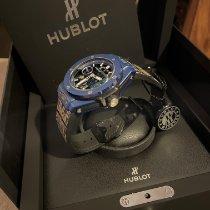 Hublot Big Bang Meca-10 Cerámica 45mm Azul Sin cifras