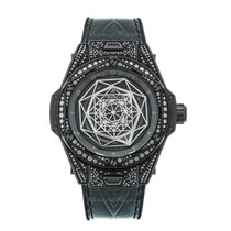 Hublot Big Bang Sang Bleu Керамика 39mm Черный