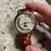 Maurice Lacroix Masterpiece Phases de Lune Gold/Steel 38mm White United States of America, Missouri, springfield