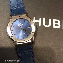 Hublot Classic Fusion Blue новые 2020 Автоподзавод Часы с оригинальными документами и коробкой 511.NX.7170.LR