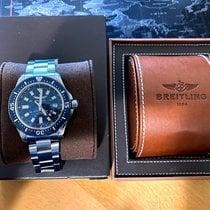 Breitling Superocean 44 occasion 44mm Bleu Date Acier