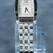 Ebel gebraucht Quarz 22mm Silber Saphirglas