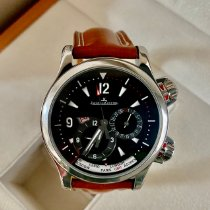 Jaeger-LeCoultre Master Compressor Geographic Steel Black United States of America, New York, Brooklyn