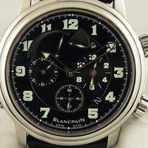 Blancpain Léman Réveil GMT 2041-1130M-53B Sehr gut Stahl 40mm Automatik