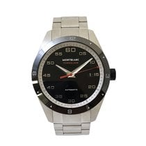 Montblanc pre-owned Automatic 41mm Black Sapphire crystal 10 ATM