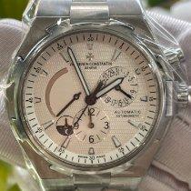 江诗丹顿 Overseas Dual Time 47450/B01A-9226 非常好 鋼 42mm 自動發條