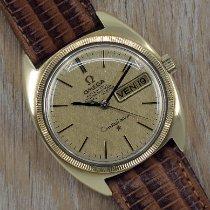 Omega 168.029 Gelbgold 1960 Constellation Day-Date 35mm gebraucht