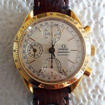 Omega Speedmaster Date Or jaune 39mm France, Sainte Solange