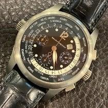 Girard Perregaux WW.TC Titane 43mm Noir Arabes