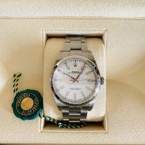 Rolex Oyster Perpetual 39 Steel 39mm White No numerals UAE, Al Furjan