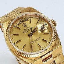 Rolex Day-Date Oysterquartz Gult guld 36mm Guld Ingen tal