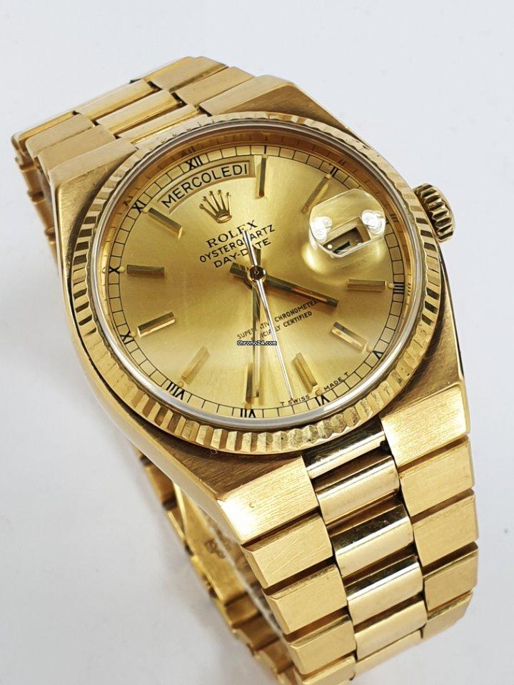 Rolex Day-Date Oysterquartz 19018 1978 tweedehands