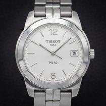Tissot PR 50 Сталь 36mm Cеребро Aрабские