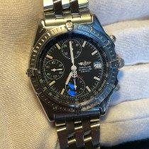 Breitling Blackbird Steel 40mm Blue No numerals