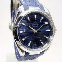 Omega Seamaster Aqua Terra Сталь 41mm Синий Без цифр