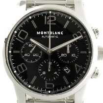 Montblanc Timewalker Steel 43mm Black