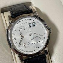 A. Lange & Söhne Lange 1 White gold 38,5mm Silver Roman numerals