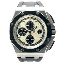 Audemars Piguet 26400SO.OO.A002CA.01 Steel 2012 Royal Oak Offshore Chronograph 44mm pre-owned