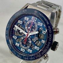 TAG Heuer Carrera Calibre HEUER 01 Stahl 45mm Blau Arabisch Deutschland, Essen
