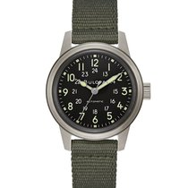 Bulova Military Steel 38mm Black Arabic numerals United States of America, New York, Bellmore