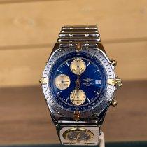 Breitling Chronomat B13048 Sehr gut Gold/Stahl Automatik