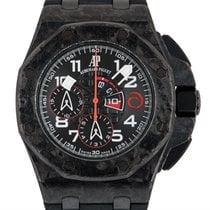 Audemars Piguet Royal Oak Offshore Chronograph Carbon 44mm Black Arabic numerals